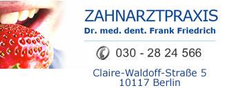Dr. med. dent. Frank Friedrich & Partner Logo